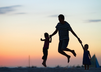 A Divorced Father's Positive Effects on His Children